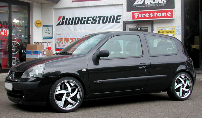 Renault Clio B Mystic 1 Tlg 17 Zoll Renault