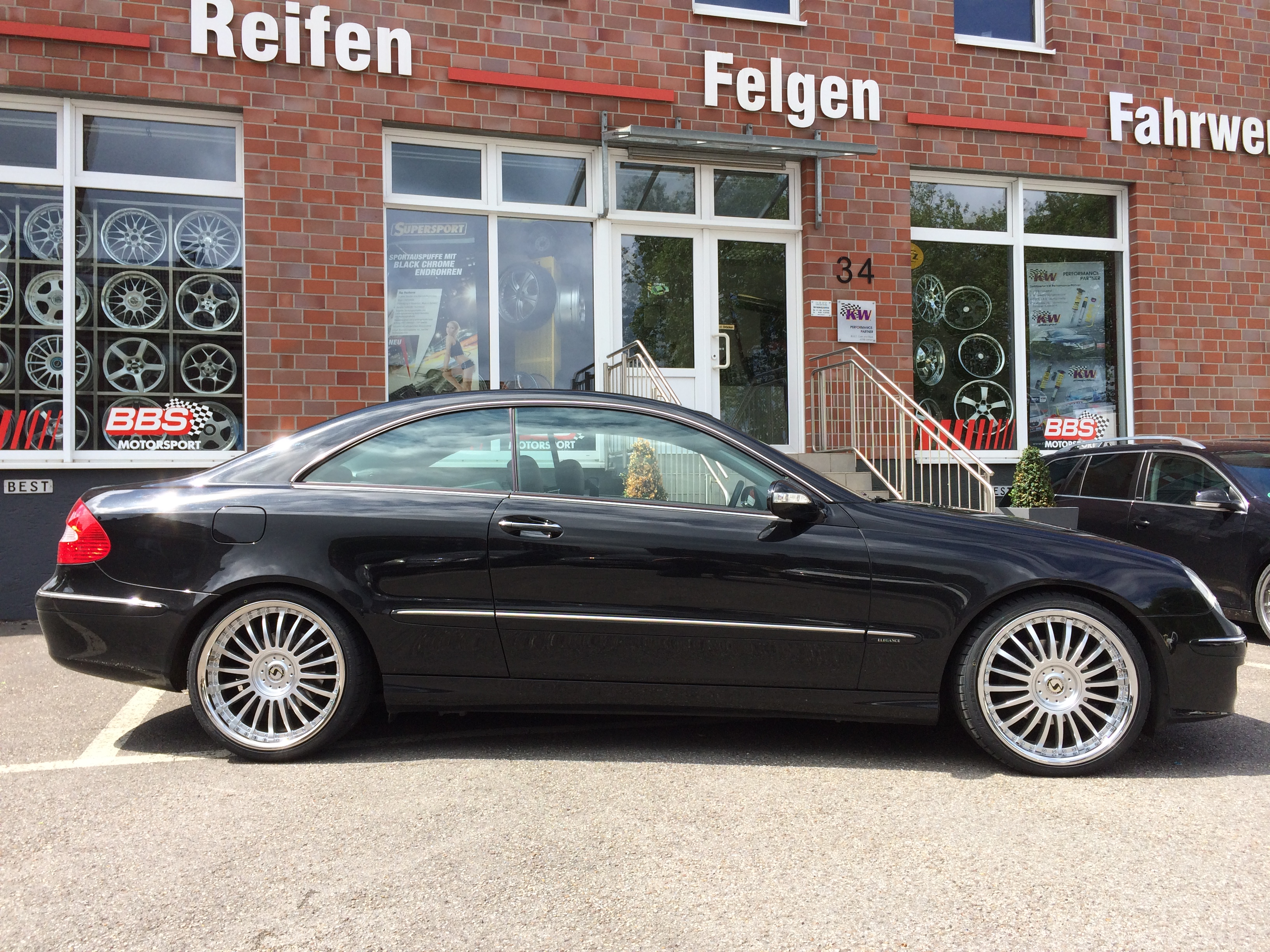 Mercedes Clk W209 Cf Line 1 Tlg 19 Zoll Mercedes