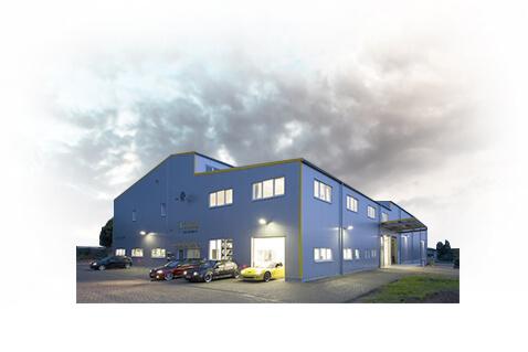 Der Firmensitz von der Volker Schmidt GmbH