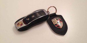 Porsche Schlüsselanhänger