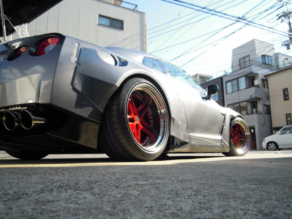 Schmidt wheels by Hashimoto with 6 inch Radinox dish