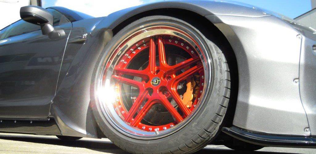 Schmidt Wheel on Rocket Bunny Nissan GT-R by Hashimoto