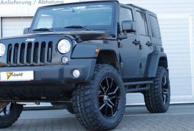 Jeep Wrangler 20 Zoll Tuning Felgen von Schmidt