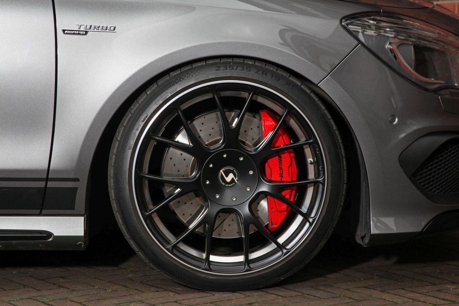 Mercedes A Amg  Black Rims