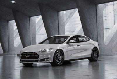 Tesla Model S mit Shift Winterfelgen von Schmidt