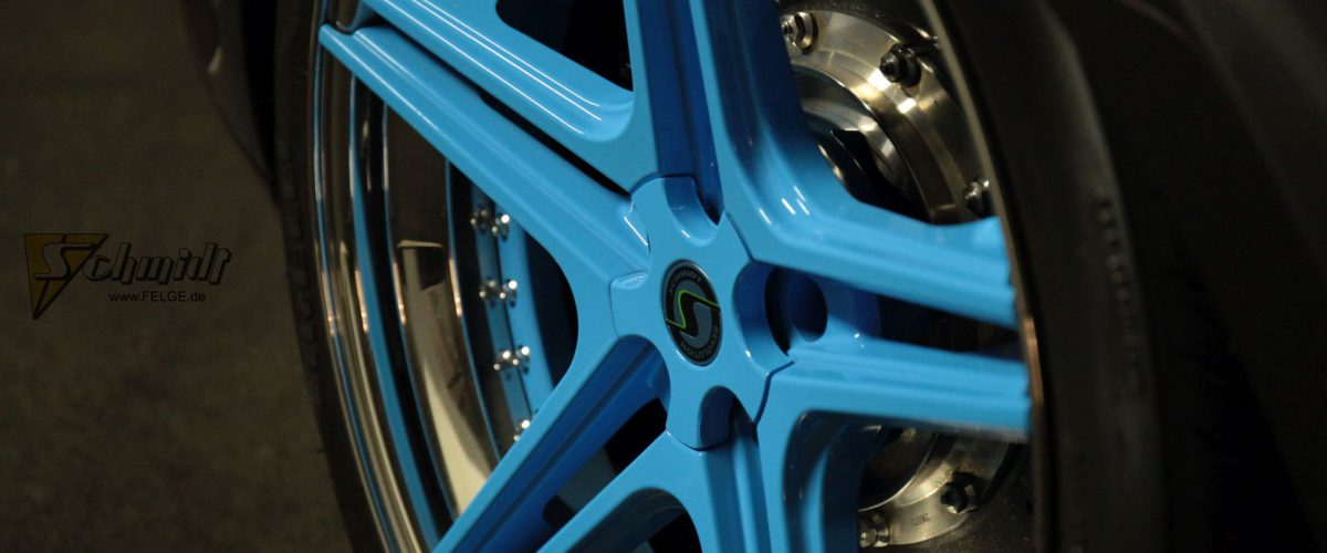 Bentley Continental GT Felgen Streetec Schmidt FS-Line 20 Zoll