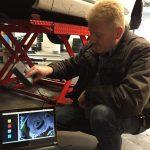 Der Felgenspezialist bei Abmessen einer Bremse für TH-Line Felgen