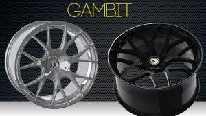 Gambit in Schwarz oder Silber