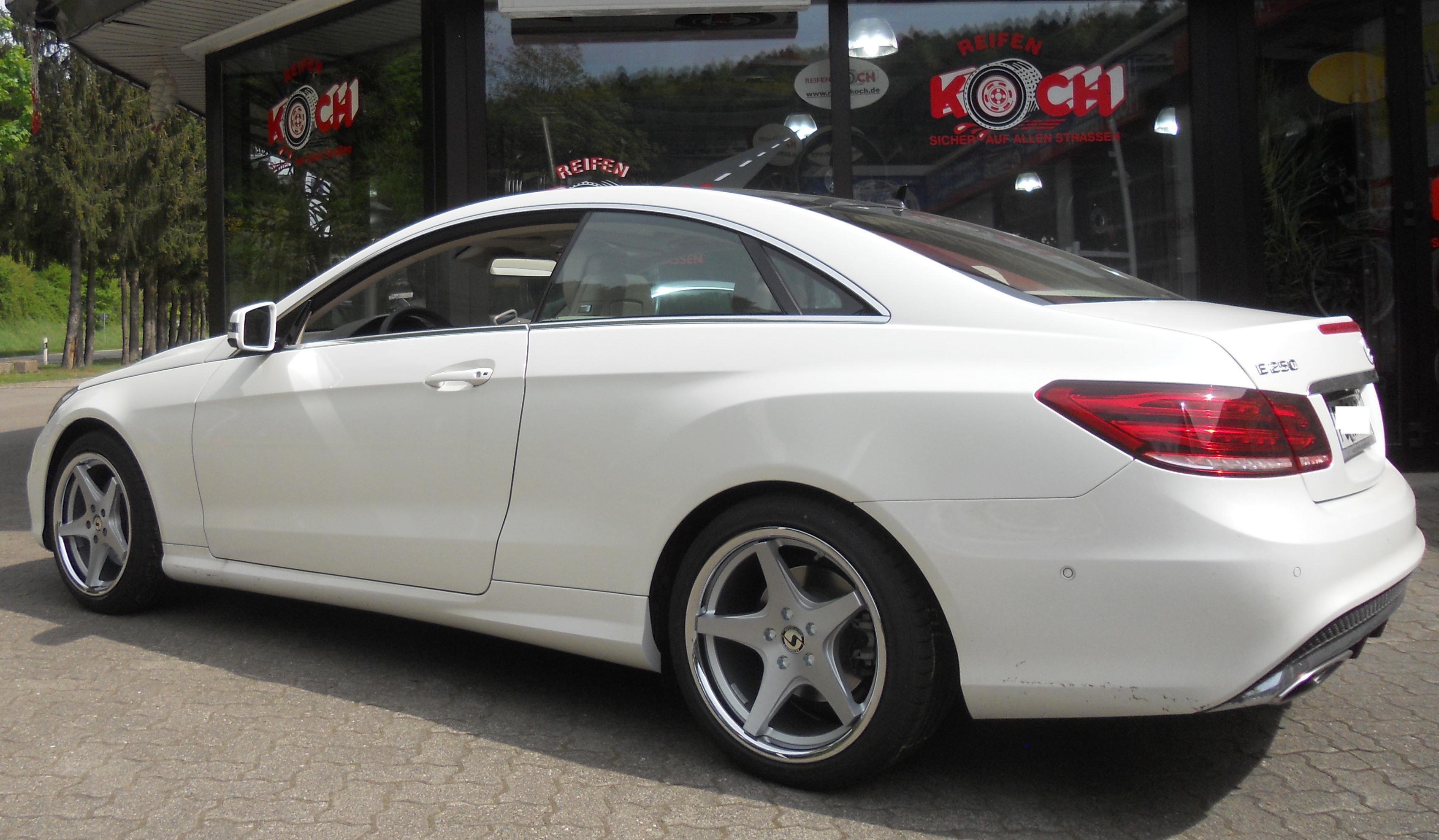 Mercedes benz e coupe xs5 reifen koch schmidt felgen for Mercedes benz w207