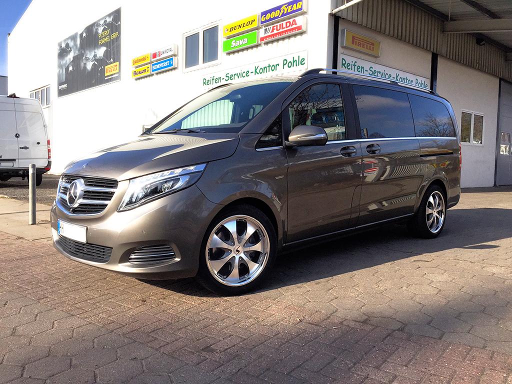 Mercedes benz v klasse rhino reifen service kontor pohle for Mercedes benz of littleton colorado