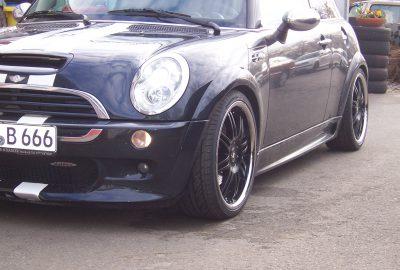 Ruder Automobile Bmw Mini R50 Dreiteilige Schmiedefelgen