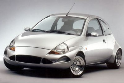 14 Zoll TH-Line Alufelgen auf Ford Ka Colani Design