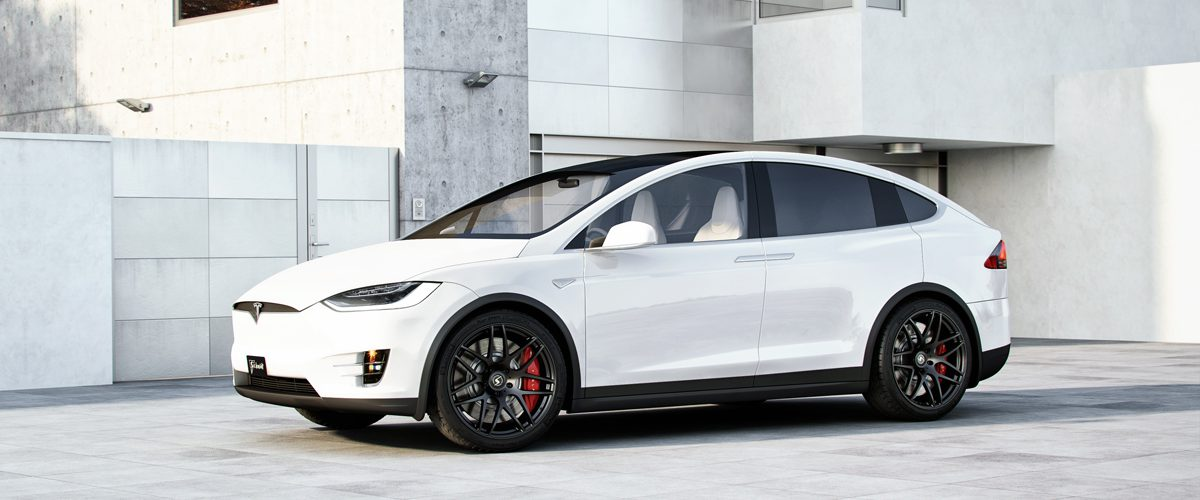 Tesla Model X Alufelgen by Schmidt Revolution