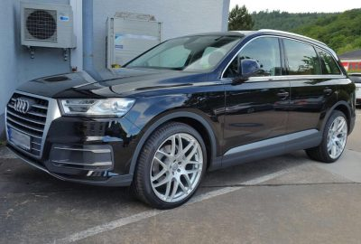 Audi Q7 MKII 4M Gambit Tuner Alufelgen Schrägansicht