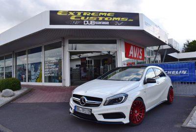 Extreme Customs Gmbh Mercedes Benz Amg A45 W176 Cc Zero Felgen