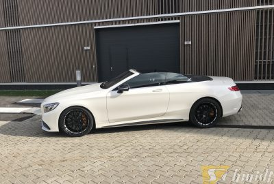 Mercedes C63S AMG Cabrio Shift Alufelgen