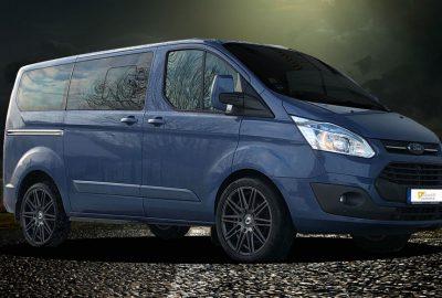 """Schmidt Tyron Alufelge 20"""" auf Ford Transit"""