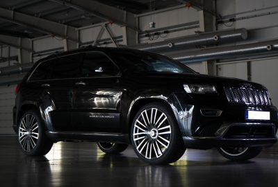 Tuning Concepts By M Goebelhoff Jeep Grand Cherokee Wk Eckstein 23 Zoll Felge Fuer Boliden